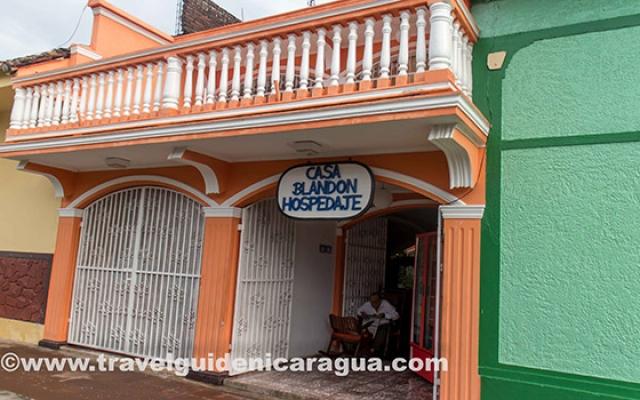 Lodging casa blandon granada info nicaragua for Casa relax granada