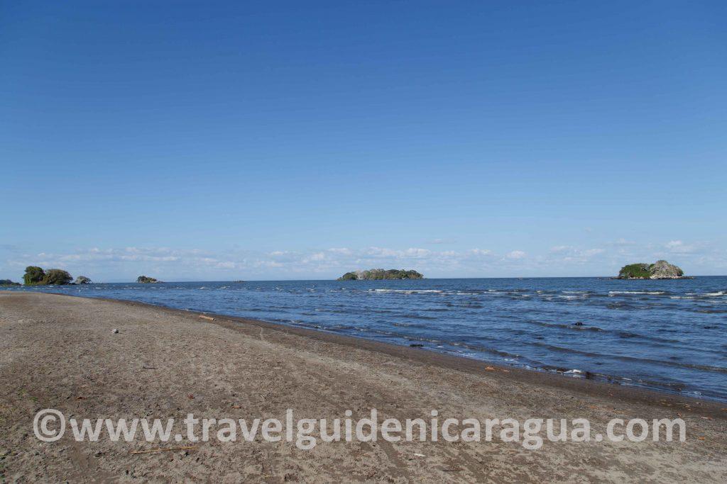 Playa Santo Domingo Ometepe island