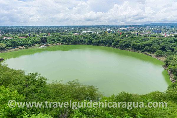 tiscapa lagoon managua nicaragua